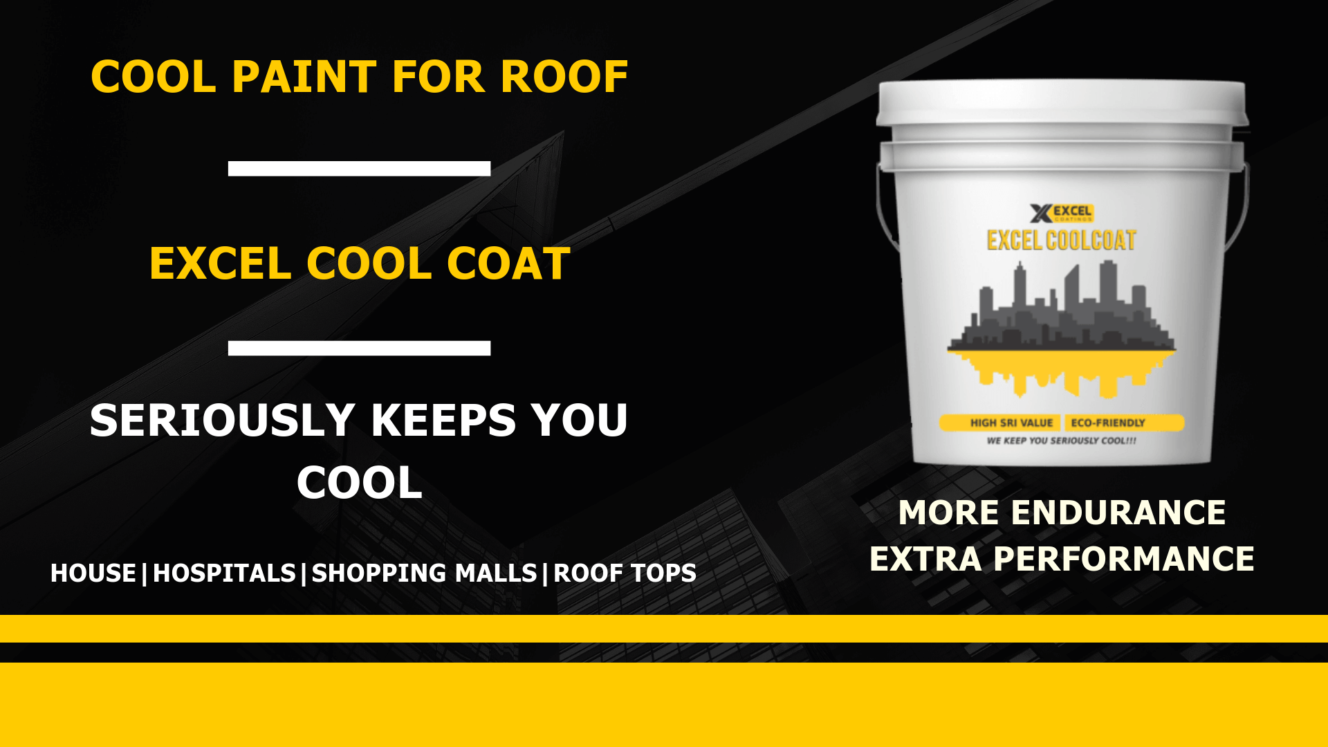 Cool Paint for Roof- Excel CoolCoat