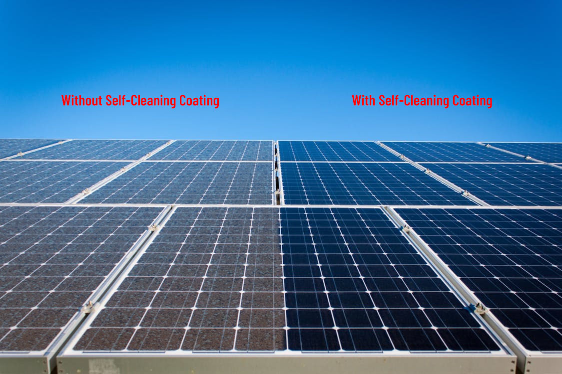 Excel StayClean | Self-Maintenance Coating for Solar Panels | Dust Repellent Coating.